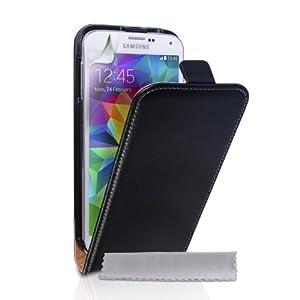 Amazon.com: Caseflex Samsung Galaxy S5 Case Black Genuine