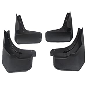 Moonet mud guards mudflaps for mercedes benz for Mercedes benz ml350 mud flaps