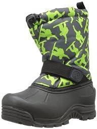 Northside Frosty Boot (Little Kid/Big Kid),Dark Grey/Green,3 M US Little Kid