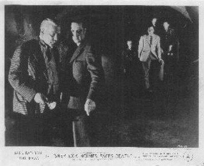 Sherlock Holmes Faces Death Lobby Card