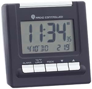 TFA 98.1087, 78 x 46 x 80 mm, AA, Negro - Despertador