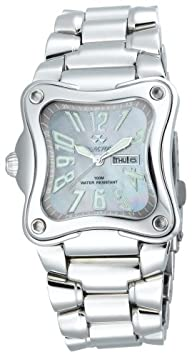 REACTOR Midsize 88017 Flux Latte Pearl Dial Stainless Steel Watch