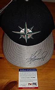 Ken Griffey Jr signed auto Seattle Mariners baseball autographed cap - PSA DNA... by Sports Memorabilia