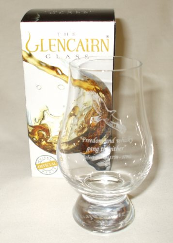 Glencairn Whisky Nosing Glass 'Freedom & Whisky' Standard Box
