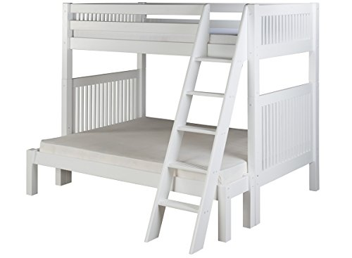 White Wooden Bunk Beds 4935 front