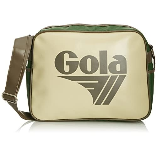 Gola Classics Unisex-Adult Redford Cub 901 Messenger Bag CUB901 Cream Mid Grey Green