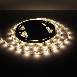 Ch&Ch Strisce luminose LED flessibili 5 - 150 W ) - DC12 - ( V ) - 5050 SMD - Bianco caldo