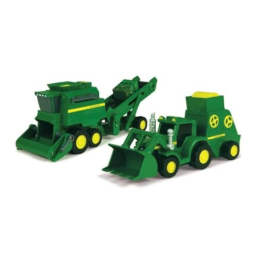 John Deere Power Drive Vehicle Assortment: Toys & Games
