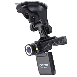 """Car DashBoard Video Camera Vehicle Video Accident Recorder DVR - 1080P Full HD Resolution Video, 2.0"""" LCD Display by BrainyTrade"""