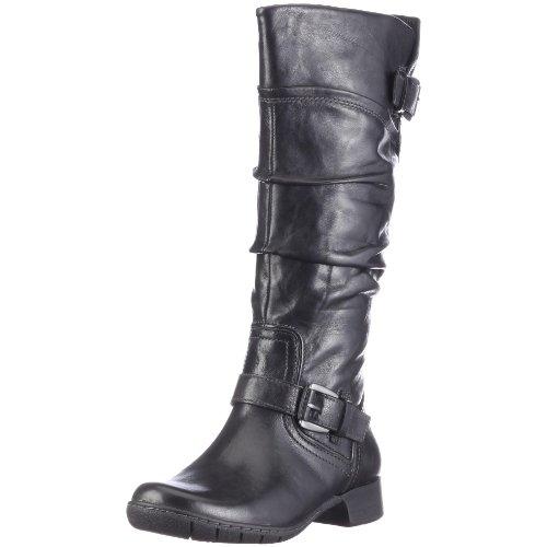 Camel Active Women's Sally Boot Black Soft Wrinkled 725.13.01 4.5 UK
