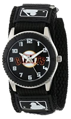 "Game Time Unisex MLB-ROB-SF ""Rookie Black"" Watch - San Francisco Giants"