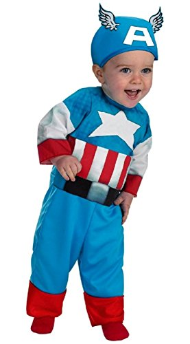 Captain America Costume - Infant