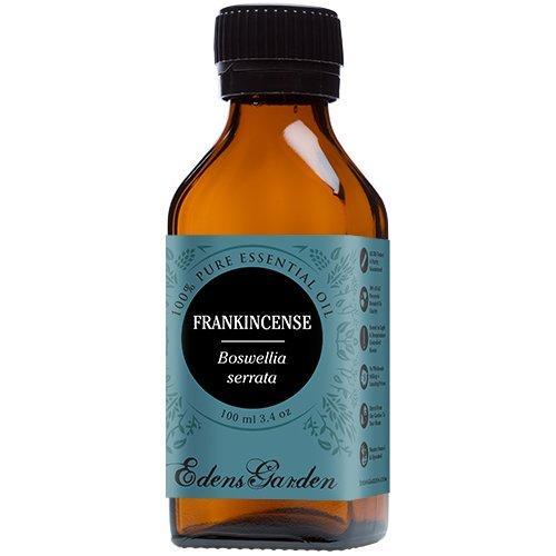 Frankincense (Boswellia serrata) 100% Pure Therapeutic Grade Essential Oil by Edens Garden- 100 ml