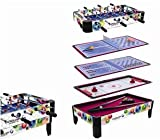Goglory 36' Deluxe 7 in 1 Game Table