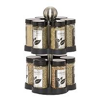 Kamenstein 5108304 Madison 12 jar Spice Rack
