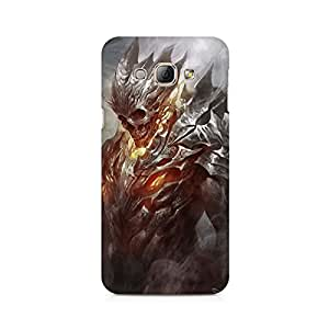 Mobicture Skull Art Premium Printed Case For Samsung A8