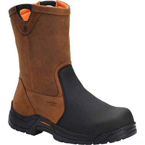 Carolina Men'S Internal Met Safety Crazy Horse Leather Boot 10 D Us