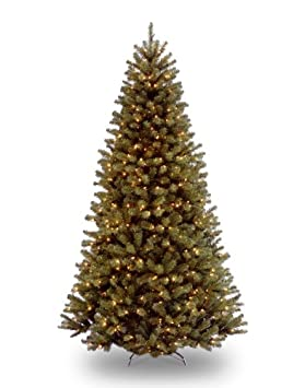 #!Cheap National Tree 9' North Valley Spruce Tree, Hinged, 700 Clear Lights (NRV7-300-90)