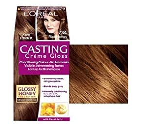 Casting Creme Gloss by L'Oreal Paris 734 Rich Honey