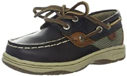 Sperry Top-Sider Bluefish Boat Shoe (Toddler/Little Kid/Big Kid),Chocolate,8 M US Toddler