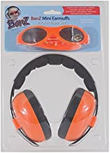 Baby Banz Earmuffs and Infant Hearing Protection and Sunglasses Combo 0-2 Years Orange