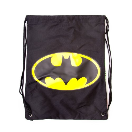 Batman Double-Sided Gym Bag  Classic Logo and