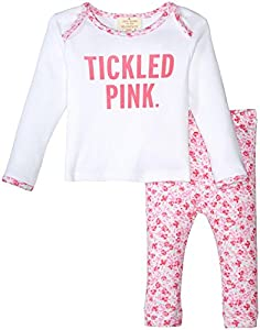 kate spade york Tickled Pink Loungewear Set (Baby)
