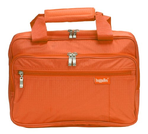 baggallini luggage complete cosmetic bag orange one size