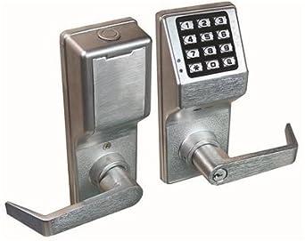 alarm lock dl410026d alarm lock 4100 series push button digital keypad door lock with privacy. Black Bedroom Furniture Sets. Home Design Ideas