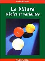 Billard regles et variantes