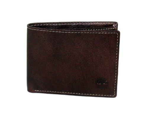 Timberland Men's Blix Slimfold Wallet, Brown, One Size