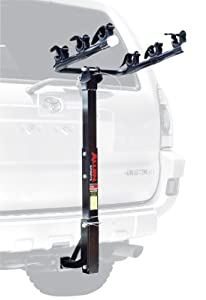 Allen Sports Deluxe 3-Bike Hitch Mount Rack (1.25 or 2-Inch Receiver)