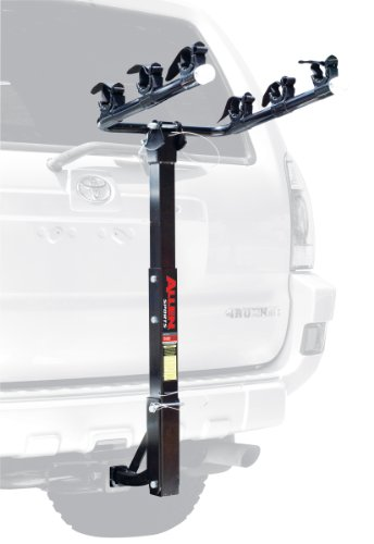 Allen Sports Deluxe 3-Bike Hitch Mount Rack (1.25 Or 2-Inch Receiver) front-20531