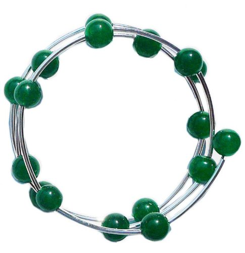 Green jade Creation Bracelet