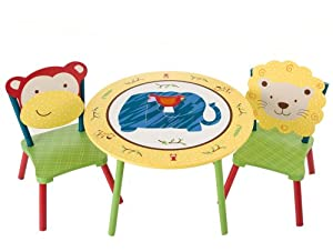 Levels Of Discovery Jungle Jingle Table And 2 Chair Set Multi-color from Levels of Discovery