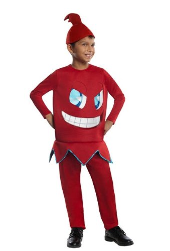 Pac-Man & The Ghostly Adventures Deluxe Blinky Costume Child Medium