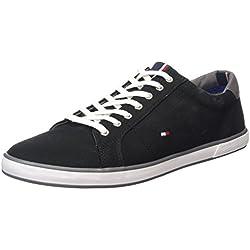 Tommy Hilfiger H2285ARLOW 1D, Herren Sneakers, Schwarz (BLACK 990), 44 EU