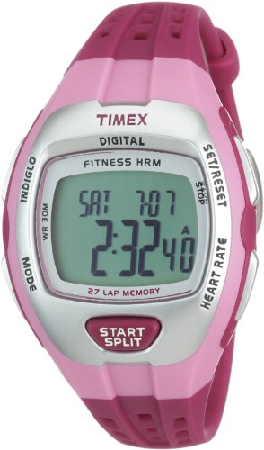 Cheap Timex Zone Trainer Digital Heart Rate Monitor – Mid Size – Pink (T5K628)