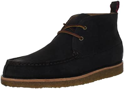 (狂抢)拉夫劳伦Polo Ralph Lauren Pitney Chukka Oxford型男麋皮沙漠靴深棕色$60.67