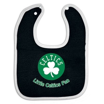 Boston Celtics Full Color Snap Bib Single - Team Color Body front-913818