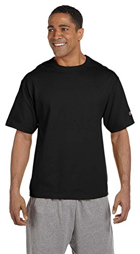 Champion Heritage 7 oz. Jersey T-Shirt, 3XL, BLACK (Champion 7oz compare prices)