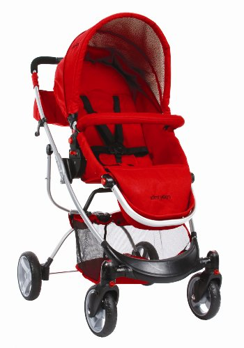 The First Years Indigo Stroller, Retro Red