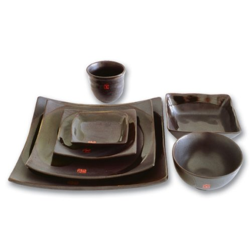 Buy Samurai 6 Piece Japanese Dinnerware Set