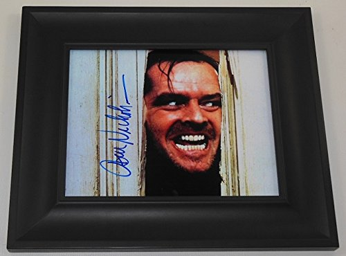 the-shining-jack-nicholson-signed-autographed-8x10-glossy-photo-gallery-framed-loa