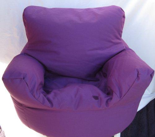 Cotton Purple Bean Bag Arm Chair Seat Hallways ®