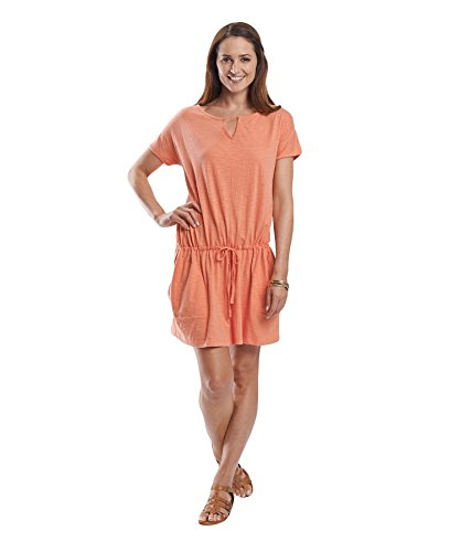 B00LTBO0C8 Woolrich Women's Lakeside Ii Knit Dress, Guava, Large