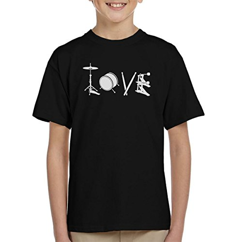 Love-Drum-Kids-T-Shirt