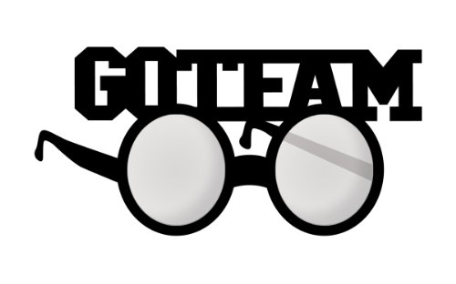 Creative Converting School Spirit Party Favor Shaped Go Team Glasses (Black Velvet)