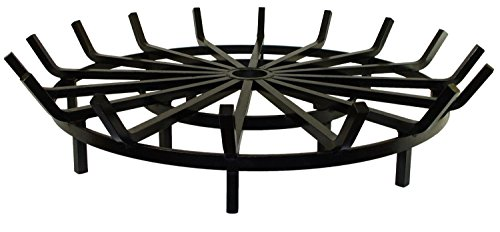 Heritage-Products-Super-Heavy-Duty-Wagon-Wheel-Firewood-Grate-for-Fire-Pit