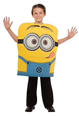 Despicable Me Child's Costume, Minion Dave Costume, Medium(US Size 8 to 10)